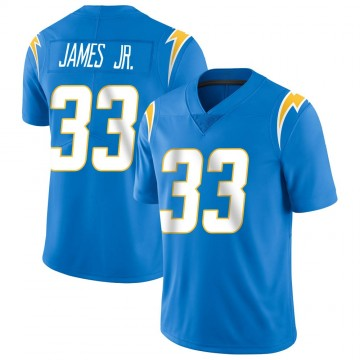 Men's Nike Los Angeles Chargers Derwin James Blue Powder Vapor Untouchable Alternate Jersey - Limited