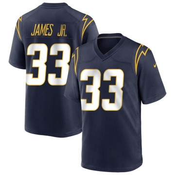 Men's Nike Los Angeles Chargers Derwin James Navy Team Color Jersey - Game