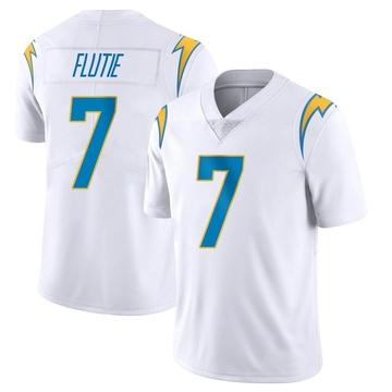 ca6f10d9a25 Men's Nike Los Angeles Chargers Doug Flutie White Vapor Untouchable Jersey  - Limited
