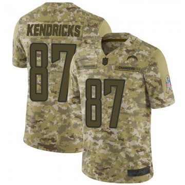 Men's Los Angeles Chargers Lance Kendricks Camo 2018 Salute to Service Jersey - Limited