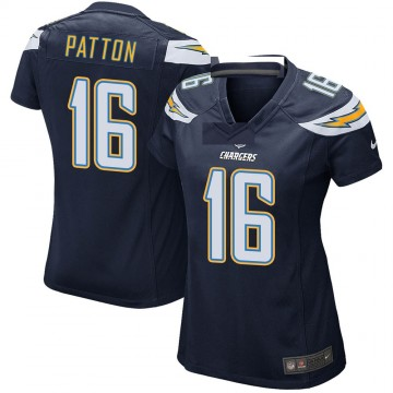 Women's Nike Los Angeles Chargers Andre Patton Navy Team Color Jersey - Game