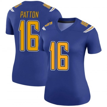 Women's Nike Los Angeles Chargers Andre Patton Royal Color Rush Jersey - Legend