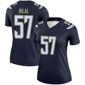 Women's Nike Los Angeles Chargers Asmar Bilal Navy Jersey - Legend