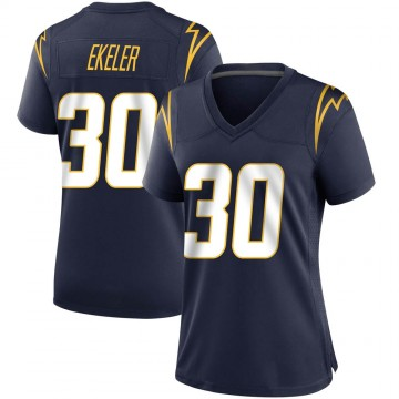 Women's Nike Los Angeles Chargers Austin Ekeler Navy Team Color Jersey - Game