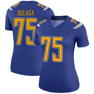 Women's Nike Los Angeles Chargers Bryan Bulaga Royal Color Rush Jersey - Legend