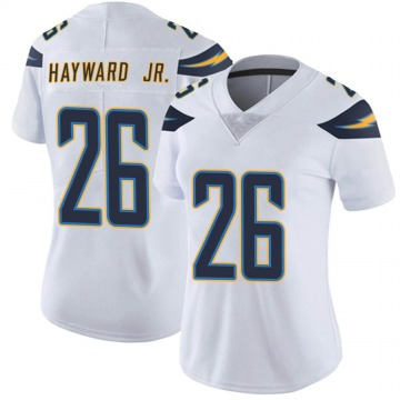Women's Nike Los Angeles Chargers Casey Hayward White Vapor Untouchable Jersey - Limited