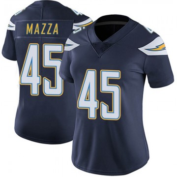 Women's Nike Los Angeles Chargers Cole Mazza Navy Team Color Vapor Untouchable Jersey - Limited