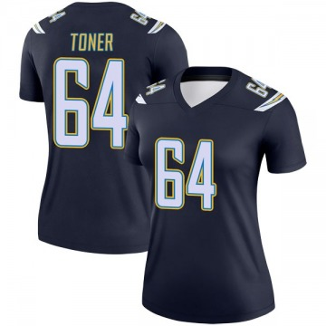 Women's Nike Los Angeles Chargers Cole Toner Navy Jersey - Legend