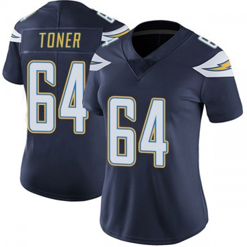 Women's Nike Los Angeles Chargers Cole Toner Navy Team Color Vapor Untouchable Jersey - Limited