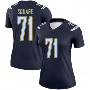 Women's Nike Los Angeles Chargers Damion Square Navy Jersey - Legend