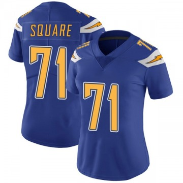 Women's Nike Los Angeles Chargers Damion Square Royal Color Rush Vapor Untouchable Jersey - Limited