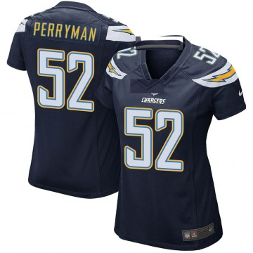 Women's Nike Los Angeles Chargers Denzel Perryman Navy Team Color Jersey - Game