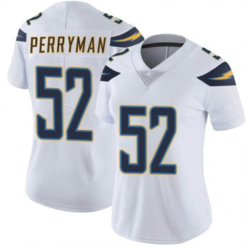 Women's Nike Los Angeles Chargers Denzel Perryman White Vapor Untouchable Jersey - Limited