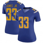 Women's Nike Los Angeles Chargers Derwin James Royal Color Rush Jersey - Legend