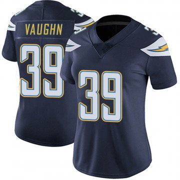 Women's Nike Los Angeles Chargers Donte Vaughn Navy Team Color Vapor Untouchable Jersey - Limited