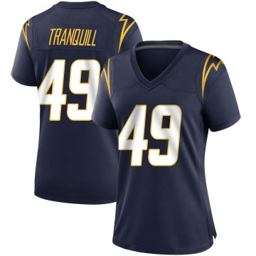 Women's Nike Los Angeles Chargers Drue Tranquill Navy Team Color Jersey - Game