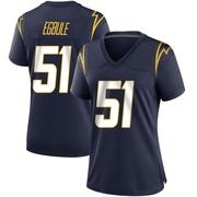 Women's Nike Los Angeles Chargers Emeke Egbule Navy Team Color Jersey - Game