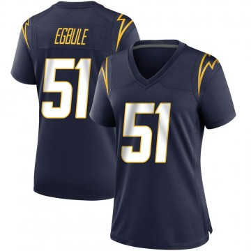 Women's Nike Los Angeles Chargers Emeke Egbule Navy Team Color Jersey - Game