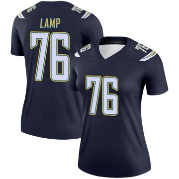 Women's Nike Los Angeles Chargers Forrest Lamp Navy Jersey - Legend
