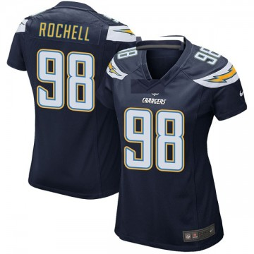 Women's Nike Los Angeles Chargers Isaac Rochell Navy Team Color Jersey - Game