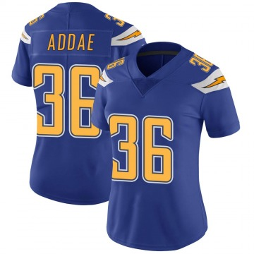 Women's Nike Los Angeles Chargers Jahleel Addae Royal Color Rush Vapor Untouchable Jersey - Limited