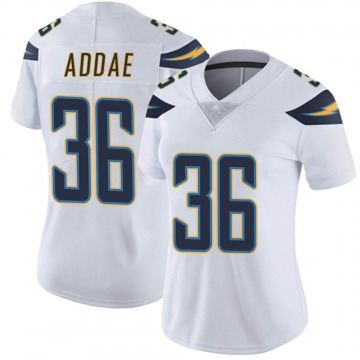 Women's Nike Los Angeles Chargers Jahleel Addae White Vapor Untouchable Jersey - Limited