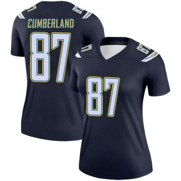 Women's Nike Los Angeles Chargers Jeff Cumberland Navy Jersey - Legend