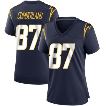 Women's Nike Los Angeles Chargers Jeff Cumberland Navy Team Color Jersey - Game