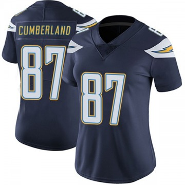 Women's Nike Los Angeles Chargers Jeff Cumberland Navy Team Color Vapor Untouchable Jersey - Limited