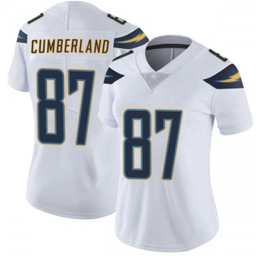 Women's Nike Los Angeles Chargers Jeff Cumberland White Vapor Untouchable Jersey - Limited