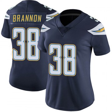 Women's Nike Los Angeles Chargers John Brannon III Navy Team Color Vapor Untouchable Jersey - Limited