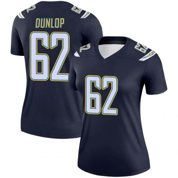 Women's Nike Los Angeles Chargers Josh Dunlop Navy Jersey - Legend