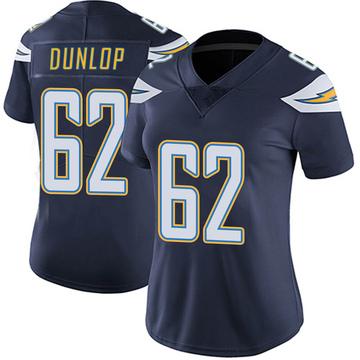 Women's Nike Los Angeles Chargers Josh Dunlop Navy Team Color Vapor Untouchable Jersey - Limited