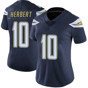 Women's Nike Los Angeles Chargers Justin Herbert Navy Team Color Vapor Untouchable Jersey - Limited