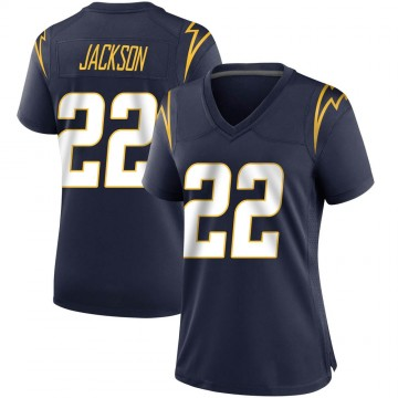 Women's Nike Los Angeles Chargers Justin Jackson Navy Team Color Jersey - Game