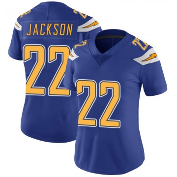 Women's Nike Los Angeles Chargers Justin Jackson Royal Color Rush Vapor Untouchable Jersey - Limited