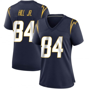 Women's Nike Los Angeles Chargers K.J. Hill Navy Team Color Jersey - Game