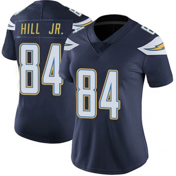 Women's Nike Los Angeles Chargers K.J. Hill Navy Team Color Vapor Untouchable Jersey - Limited