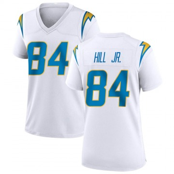 Women's Nike Los Angeles Chargers K.J. Hill White Jersey - Game