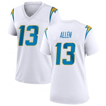 Women's Nike Los Angeles Chargers Keenan Allen White Jersey - Game