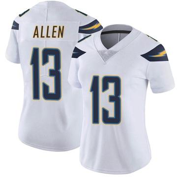 Women's Nike Los Angeles Chargers Keenan Allen White Vapor Untouchable Jersey - Limited