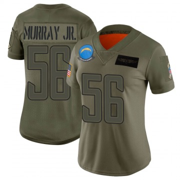 Women's Nike Los Angeles Chargers Kenneth Murray Camo 2019 Salute to Service Jersey - Limited