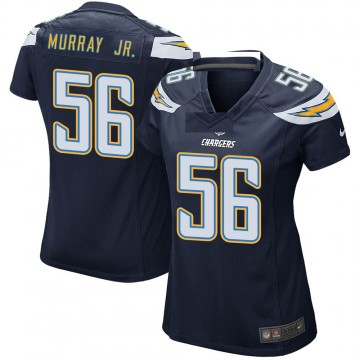 Women's Nike Los Angeles Chargers Kenneth Murray Navy Team Color Jersey - Game