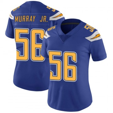 Women's Nike Los Angeles Chargers Kenneth Murray Royal Color Rush Vapor Untouchable Jersey - Limited