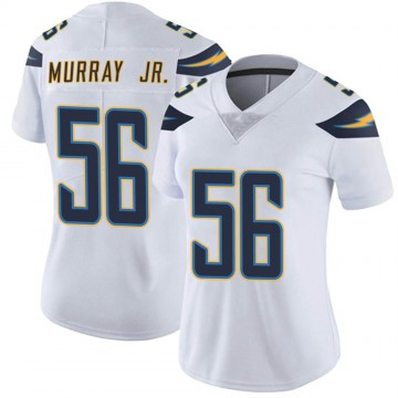 Women's Nike Los Angeles Chargers Kenneth Murray White Vapor Untouchable Jersey - Limited