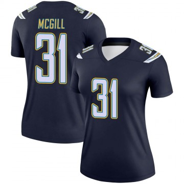 Women's Nike Los Angeles Chargers Kevin McGill Navy Jersey - Legend