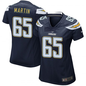 Women's Nike Los Angeles Chargers Koda Martin Navy Team Color Jersey - Game