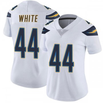 Women's Nike Los Angeles Chargers Kyzir White White Vapor Untouchable Jersey - Limited