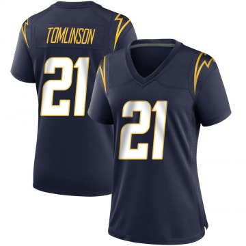 Women's Nike Los Angeles Chargers LaDainian Tomlinson Navy Team Color Jersey - Game