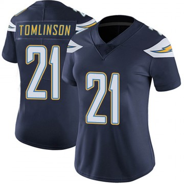 Women's Nike Los Angeles Chargers LaDainian Tomlinson Navy Team Color Vapor Untouchable Jersey - Limited